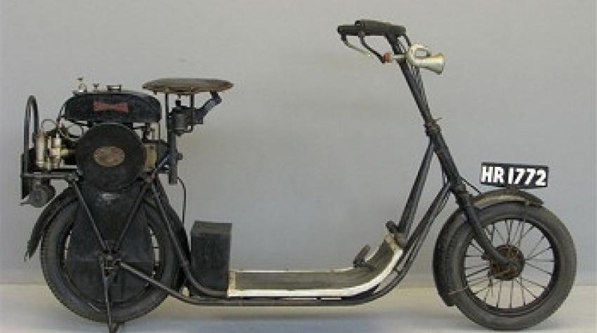 Cyclomoteur ancien ABC