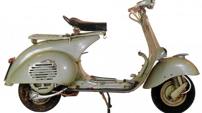 Cyclomoteur ancien Vespa